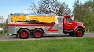 Vacuum Tanker for Marlboro Twp. on a Department Supplied Chassis.