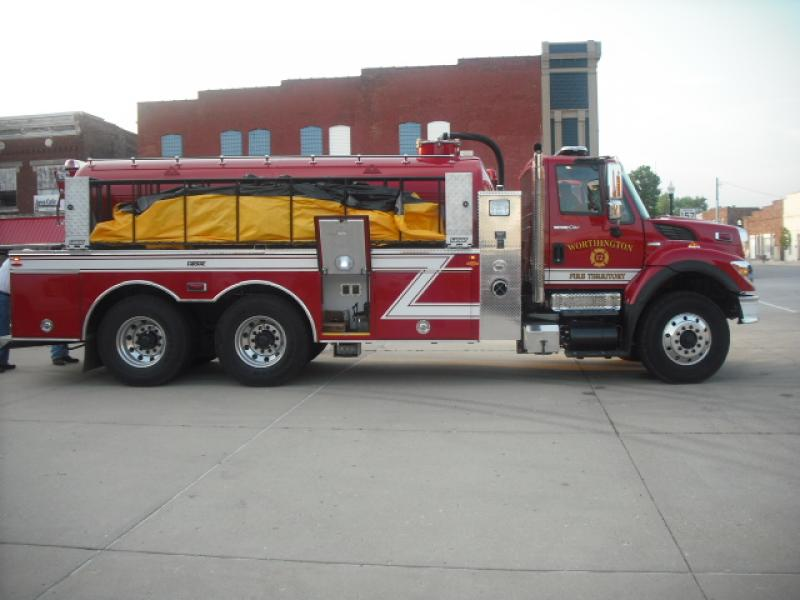 Worthington Volunteer Fire Department - Worthington, IN   HAWK