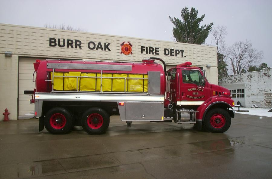 Burr Oak Volunteer Fire Department - Burr Oak, MI    RAVEN