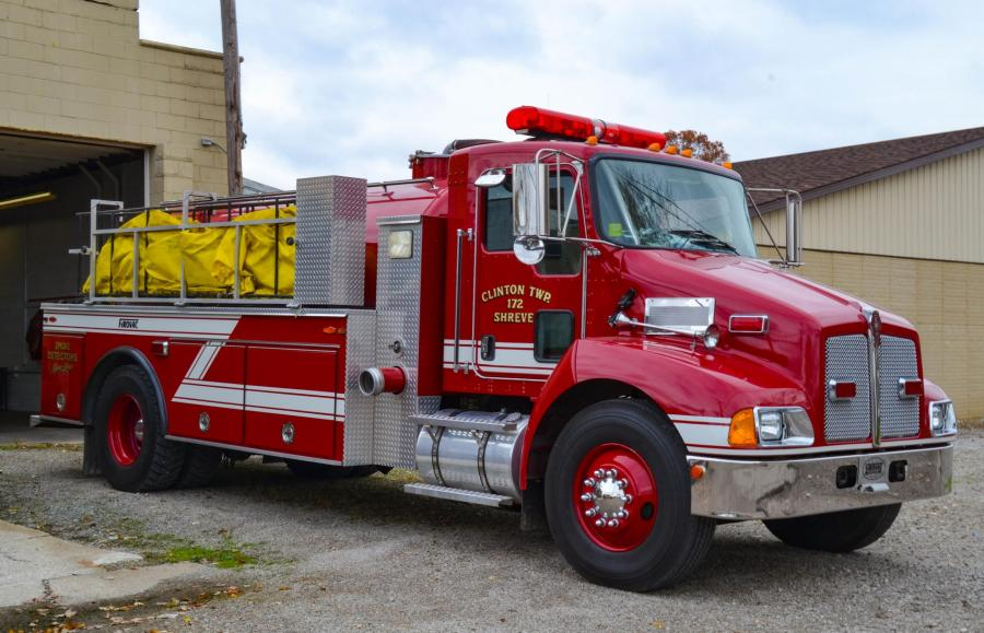 Clinton Township Volunteer Fire Department - Shreve, Ohio   HAWK DEMO 4   Photo Credit: Jeff Green