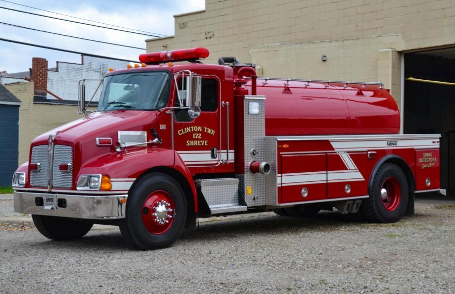 Clinton Township Volunteer Fire Department - Shreve, Ohio  HAWK DEMO 4   Photo Credit: Jeff Green