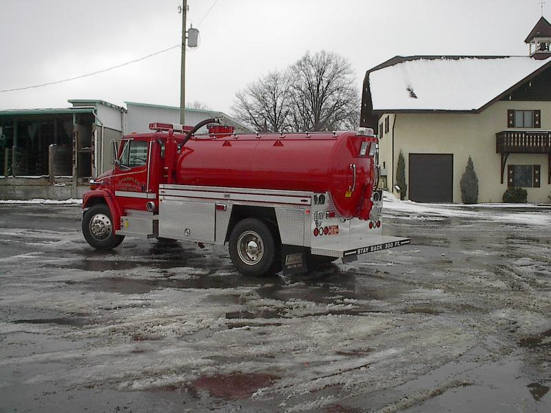 Sharples Volunteer Fire Department - Sharples, WV   RAVEN