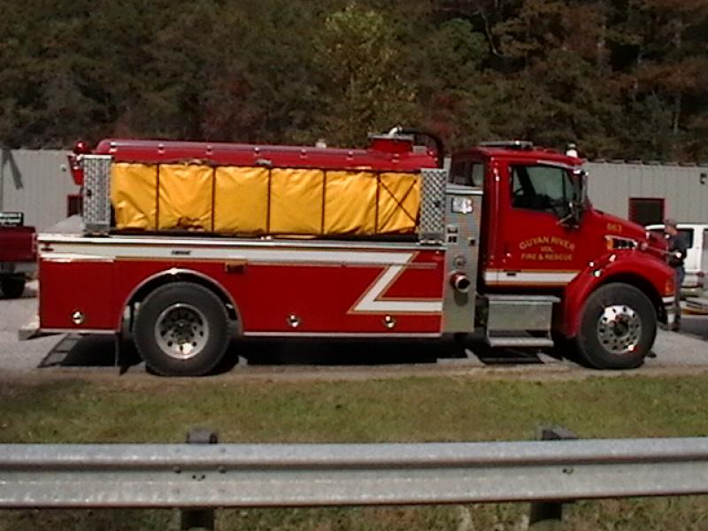 Guyan River Volunteer Fire Department - Ranger, WV   HAWK