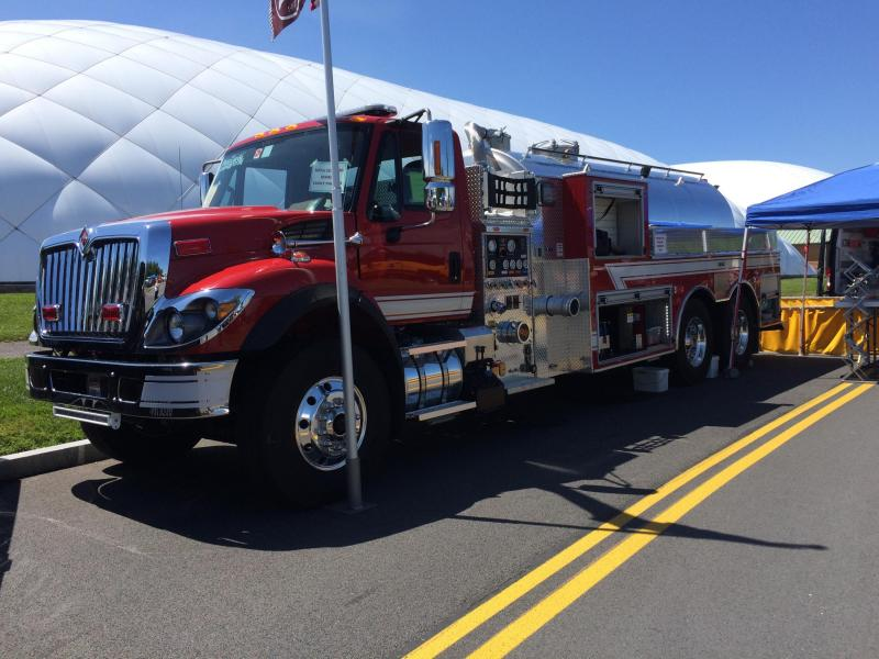 FIROVAC DEMO 8 on Display at the 2018 NYSAFC SHOW