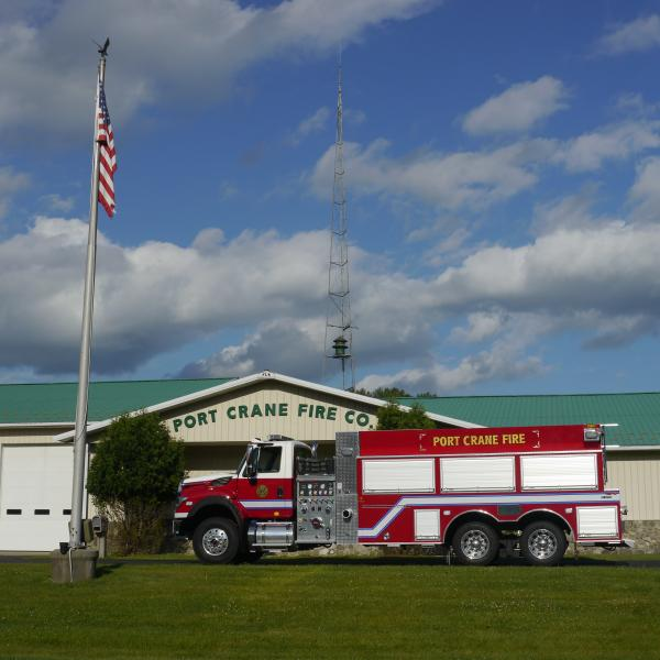 Port Crane Fire Company - Port Crane, NY   EAGLE QP
