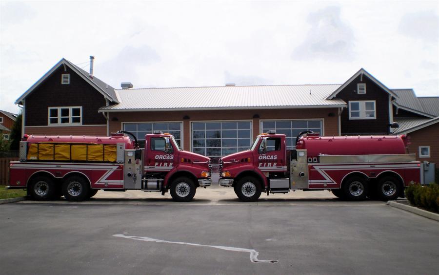 San Jaun County Fire - Orcas Island, WA   HAWK QP