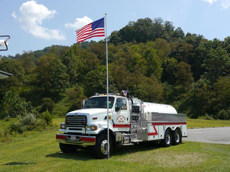 Wharton Barrett Volunteer Fire Department - Wharton, WV   HAWK QP