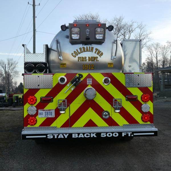 Colerain Township Fire Department - Kingston, OH   HAWK QP