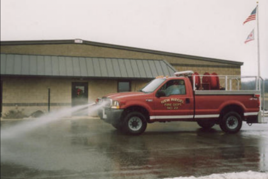 New Riegle Volunteer Fire Department - Tiffin, OH   GRASS UNIT