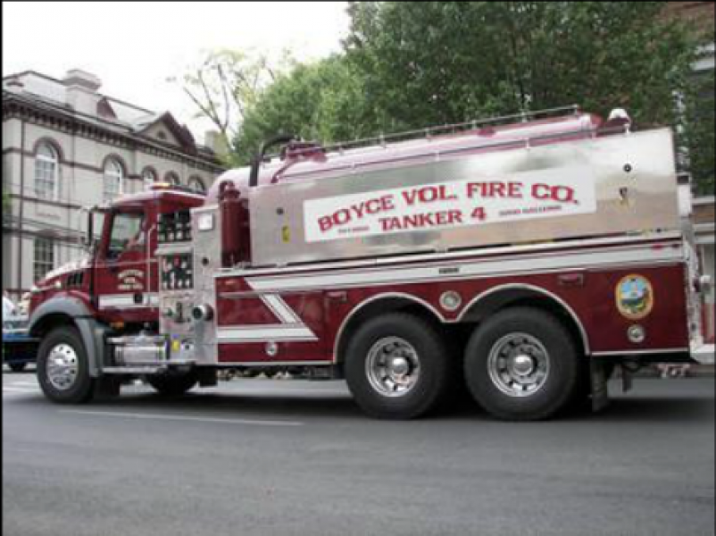 Boyce Volunteer Fire Company - Boyce, VA   HAWK PUMP OFF