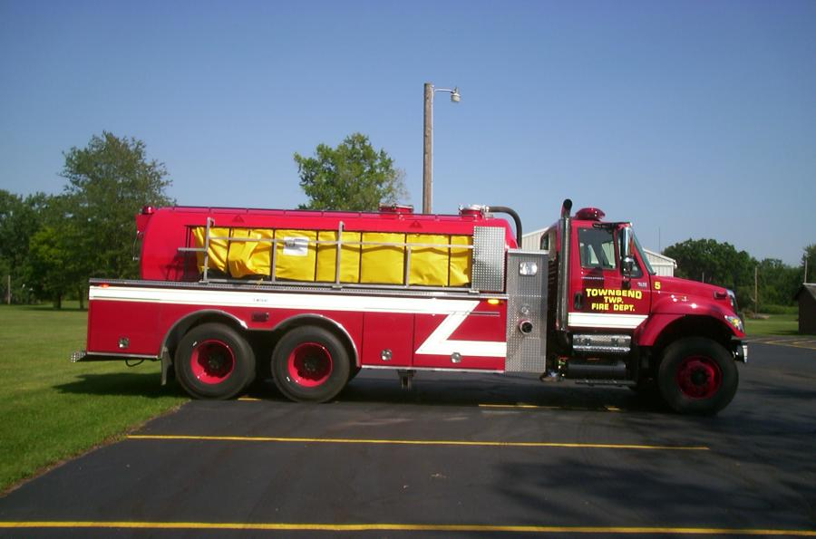Townsend Fire Department - Collins, OH   HAWK