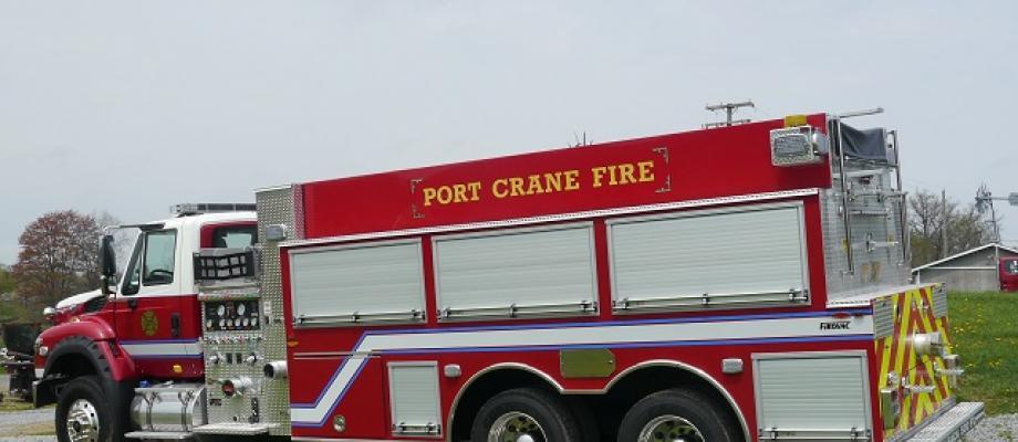 Port Crane Fire Company - Port Crane, NY   EAGLE QP