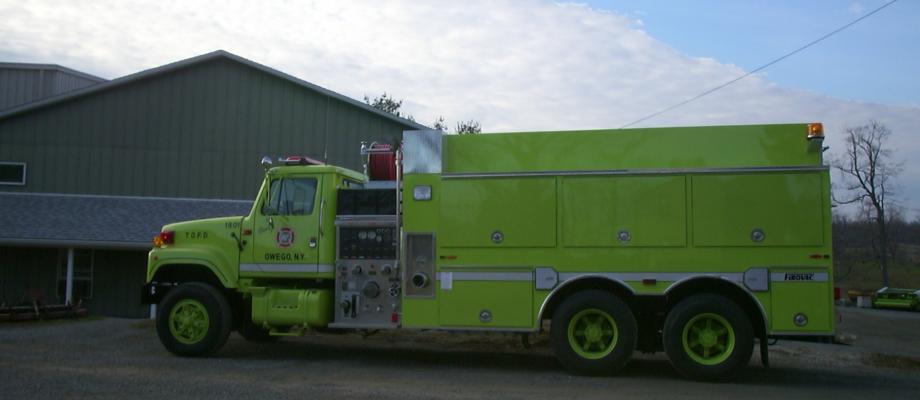 Town of Owego Fire District Southside Station - Owego, NY   REFURB EAGLE QP