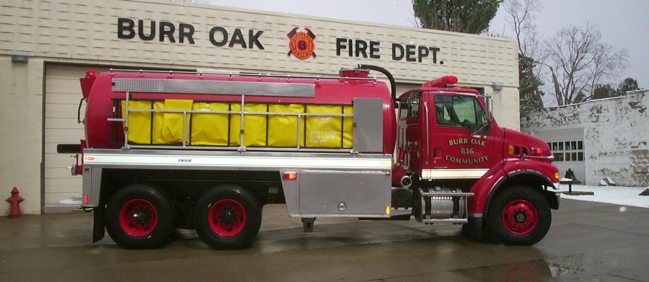 Burr Oak Volunteer Fire Department - Burr Oak, MI    RAVEN