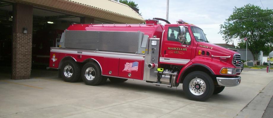 Marcellus Volunteer Fire Department - Marcellus, MI   HAWK