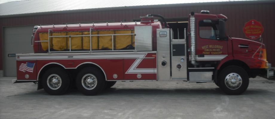 West Millgrove Volunteer Fire Department - Fostoria, OH   HAWK QP