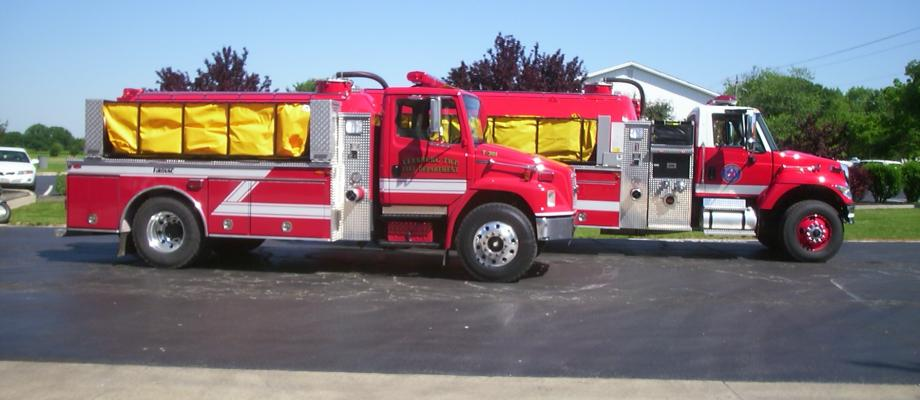 Allen Township Fire Department and Leesburg Township Fire Department - Marysville, OH  - Neighboring Departments that Mutual Aid Together