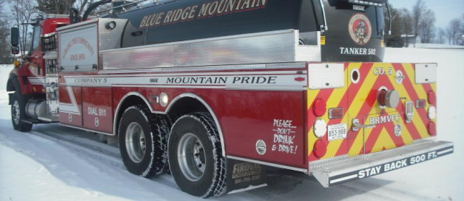 Blue Ridge Mountain Fire Company - Harpers Ferry, WV   HAWK QP