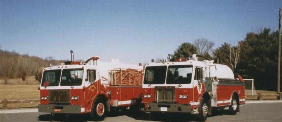 Burlington Volunteer Fire Department - Burlington, CT   HAWK #1 and #2