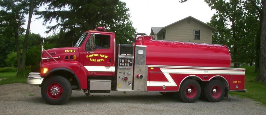 Harpers Ferry Volunteer Fire Department - Harpers Ferry, IA   HAWK QP