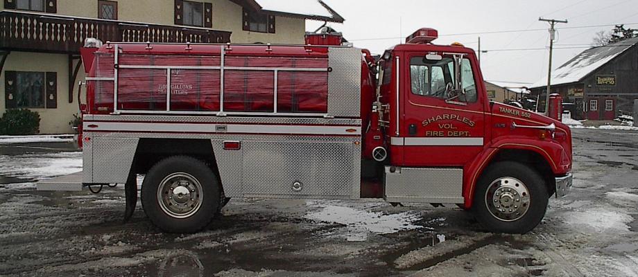 Sharples Volunteer Fire Department - Smithville, WV   RAVEN