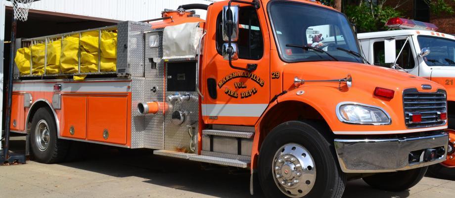 Marshallville Volunteer Fire Department - Marshallville, Ohio  HAWK QP  Photo Credit: Jeff Green