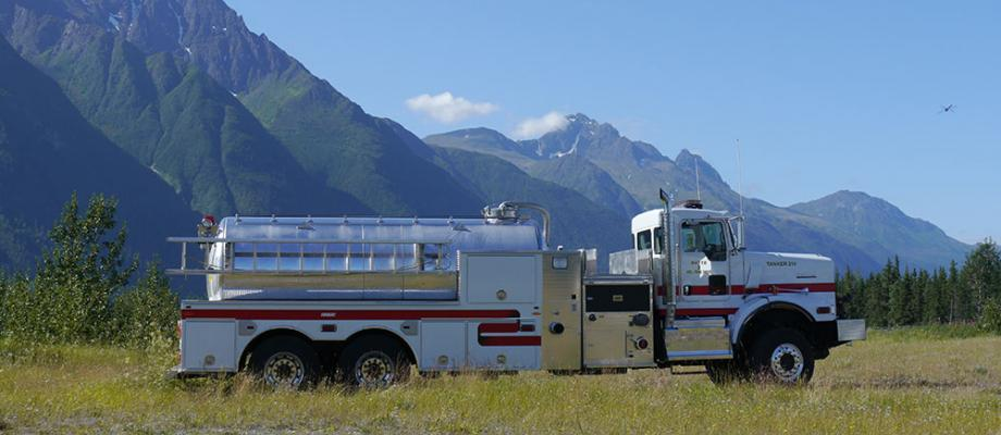 Butte Volunteer Fire Department - Palmer, AK   HAWK QP #1