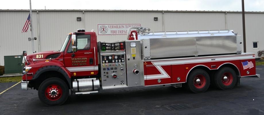 Varmilion Township Fire Department - Vermilion, OH   HAWK QP