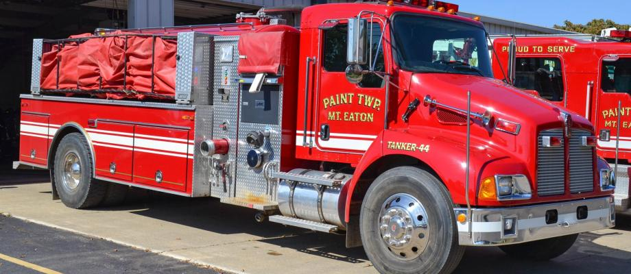 Paint Township Volunteer Fire Department - Mount Eaton, Ohio  HAWK QP  Photo Credit: Jeff Green