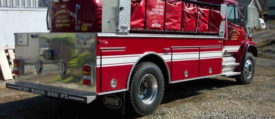 Burbank Volunteer Fire Department - Burbank, OH   HAWK