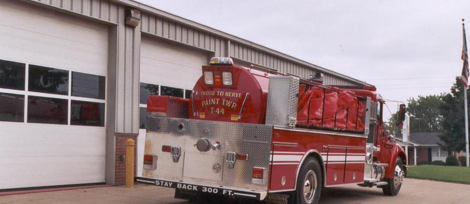 Paint Township Volunteer Fire Department - Mount Eaton, OH   HAWK QP